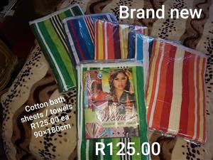 Cotton bath sheets for sale