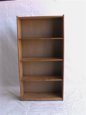 4 Tier book case veneer