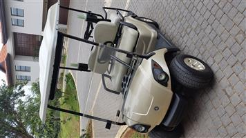 Used, 4 seater yamaha electric golf cart - mint condition - lots of extras for sale  Ballito