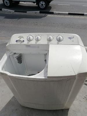 Twintop washing machine for sale