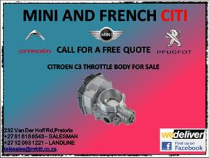 Citroen c3 throttle body for sale
