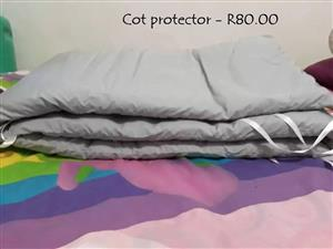 Cot protector for sale