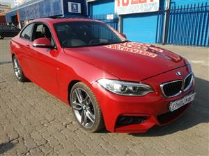 2015 BMW 2 Series 228i coupe M Sport auto