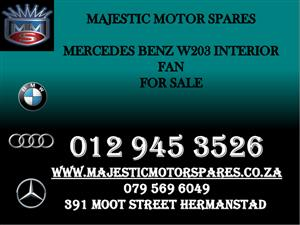 Mercedes w203 face lift interior fan for sale