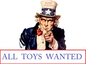 In Need Of All Unwanted Toys