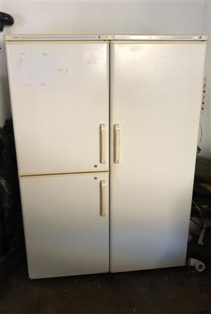 Double door fridge and freezer for sale