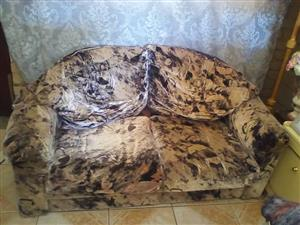 2 Seater colored couch for sale