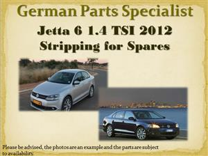 Jetta 6 1.4 TSI 2012 Stripping for Spares