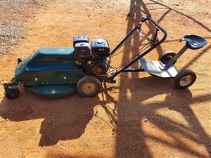 Kudu ride on lawn mower