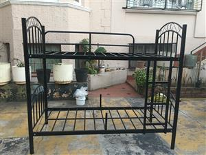 Brand new very strong steel double bunk beds for sale