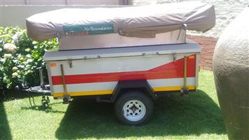 Trailer with Tent