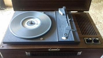 Vintage Supersonic record player