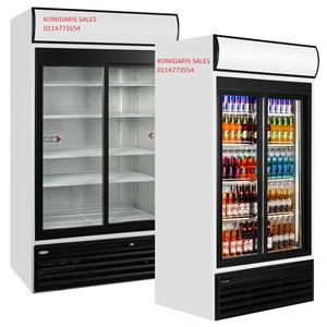 Beverage Cooler - 2 Sliding Doors DEMO 1140