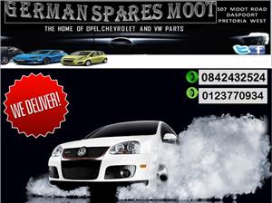 OPEL,CHEVROLET AND VW PARTS FOR SALE.