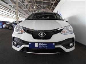 2020 Toyota Etios hatch ETIOS 1.5 Xs/SPRINT 5Dr