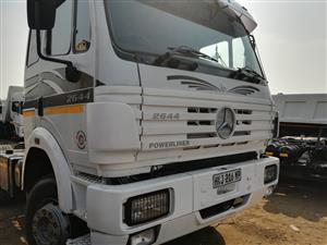 Great Buy! Mercedes Benz 2644 Powerliner 6x4 Truck Tractor!