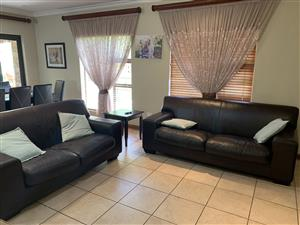 Genuine Leather Lounge Set