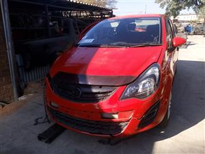 OPEL CORSA D STRIPPING FOR SPARE PARTS