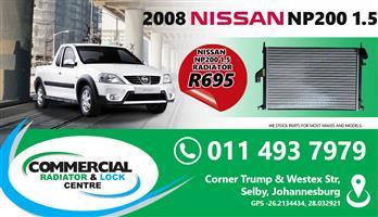 NISSAN NP200 RADIATORS FOR SALE