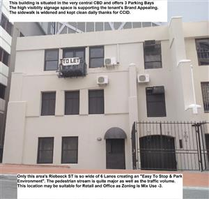CBD Trendy Central 240sqm Mixed Use Building with 4 Parking Bays