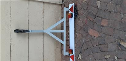 A Frame and tow lights with cable and plug complete for Opel Corsa bakkie