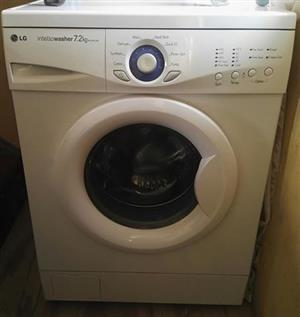 LG washing machine 7.2kg negotiable