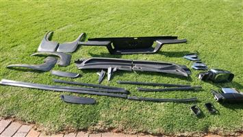 various spares stripped from a 2017 Ford Ranger XLT