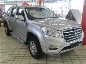 2020 GWM Steed 6 double cab STEED 6 2.0 VGT XSCAPE P/U D/C