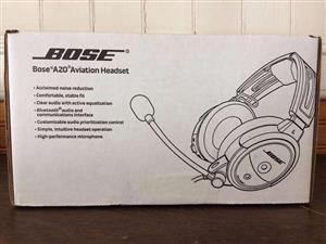 BOSE BLUETOOTH A20 HEADSET