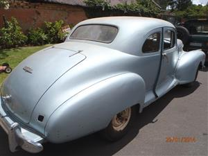 1946 Hudson Commodore Straight 8 Coupe for restoration