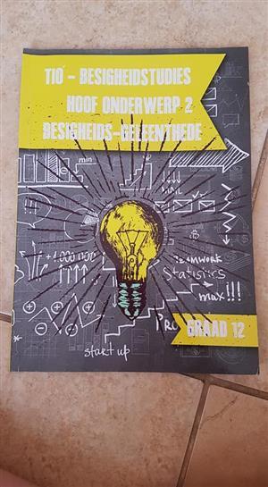 GR12 Besigheids geleenthede boek