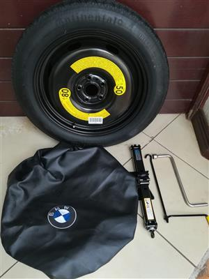 BMW Emergency Spare Wheel kits are an essential component in lock down