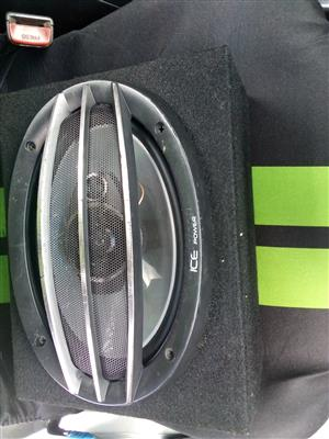 Ice power 6 by 9 speakers for sale