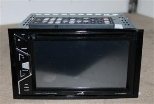 Camtec CT DVD5801 touch screen car radio w/remote and cables S032775A #Rosettenvillepawnshop