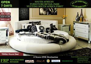 TIVOLI round bed