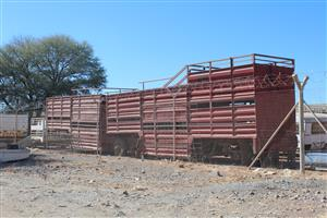 """>CATTLE MASTER""< SA Truck Bodies Cattle Master  Province: North West  Price: R200000"