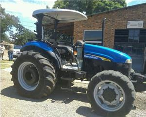 S2657 Blue New Holland TD80 60kW/80Hp Pre-Owned Tractor