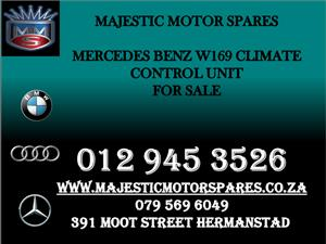 MERCEDES W169 CLIMATE CONTROL UNIT FOR SALE