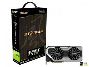GeForce GTX 1080 GPU - Palit JetStream 8GB GDDR5X 256-bit PCI-E 3.0 Desktop Graphics Card