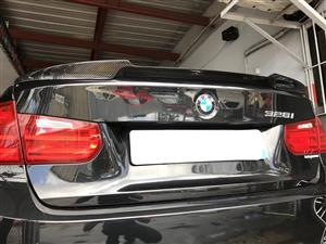 BMW 3 Series (F30)/M3 (F80) Rear M4 Style Boot Spoiler – Carbon Fiber