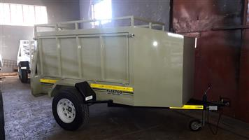 FLEETCO BOX TRAILER FOR SALE, BRAND NEW , PAPERS INCL
