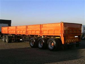 Used 1994 TDM Tri Axle Mass Side Trailer for sale