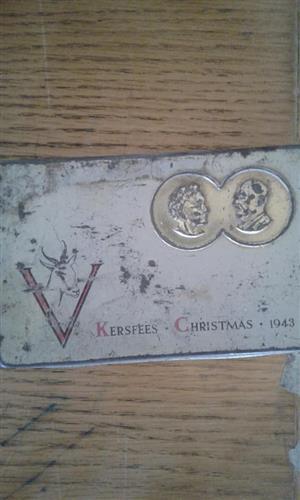 Kersfees 1943 plaat te koop