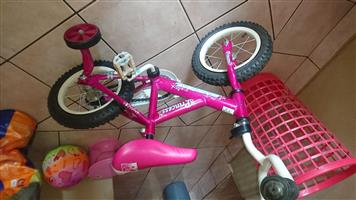 Bicycle for sale. used once. make me an offer