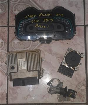 CHEV UTILITY 1.3D A/C S/C USED LOCKSET FOR SALE