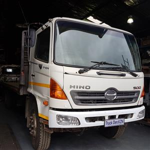 2008 HINO 500 16/26 COMPLETE FLAT DECK TRUCK IN GOOD RUNNING ORDER