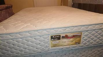 King koil double bed