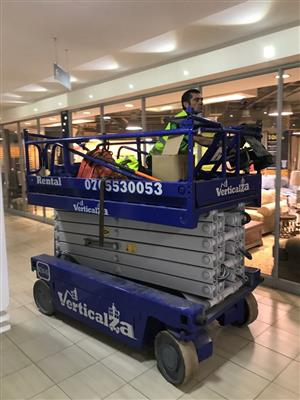 VerticalZA Scissor Lift Iteco IT12122 - 14m Electrical cherry picker