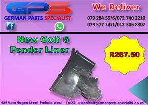 New VW Golf 5 Fender Liner for Sale