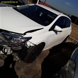2016 TOYOTA AURIS XR Code 2 For Rebuild